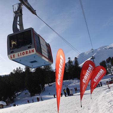 station ski lioran cabine